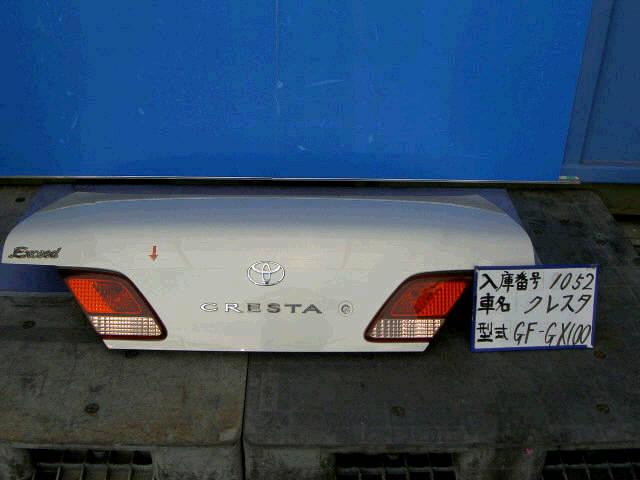 Крышка багажника TOYOTA CRESTA GX100. Фото 7