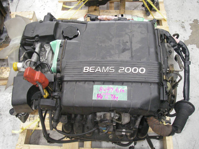 Двигатель TOYOTA GX100 1G-FE. Фото 6