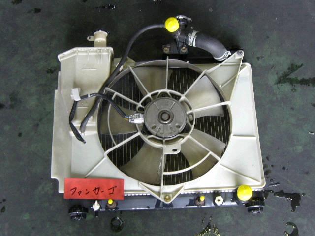 Радиатор ДВС TOYOTA IST NCP61 1NZ-FE. Фото 3