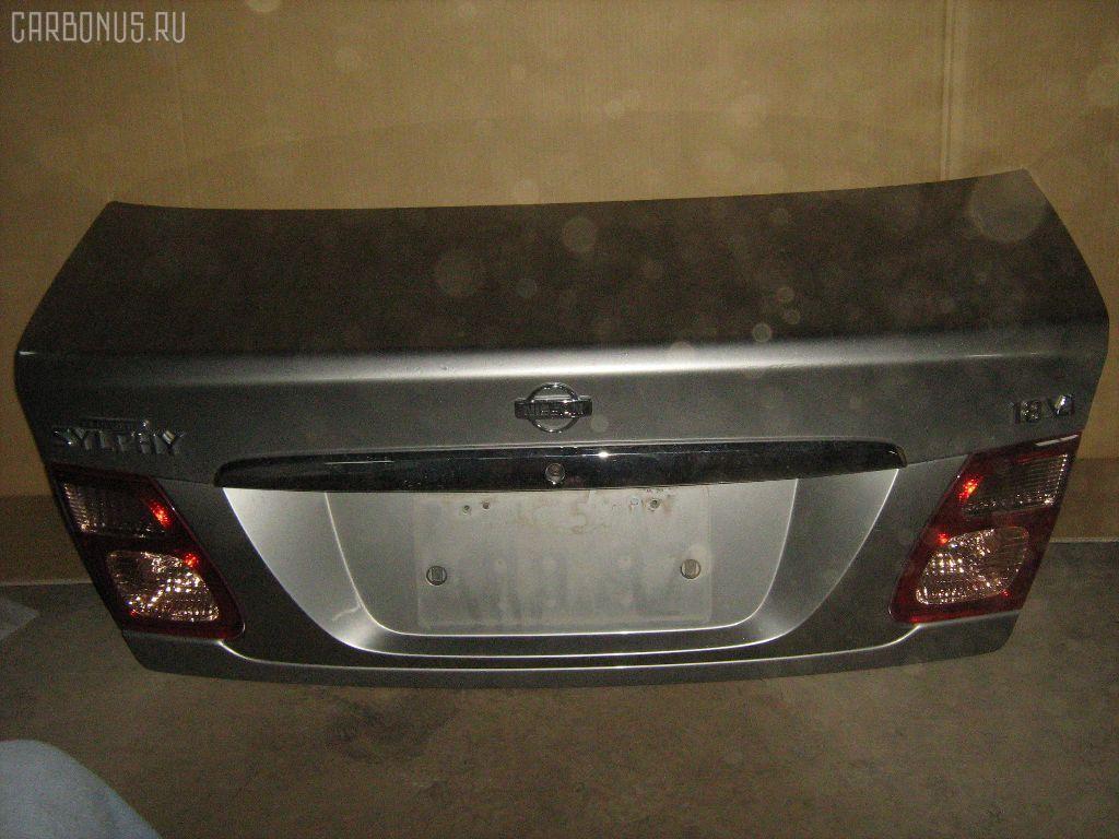 Крышка багажника NISSAN BLUEBIRD SYLPHY QG10. Фото 5