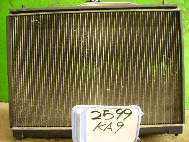 Радиатор ДВС HONDA LEGEND KA9 C35A. Фото 3