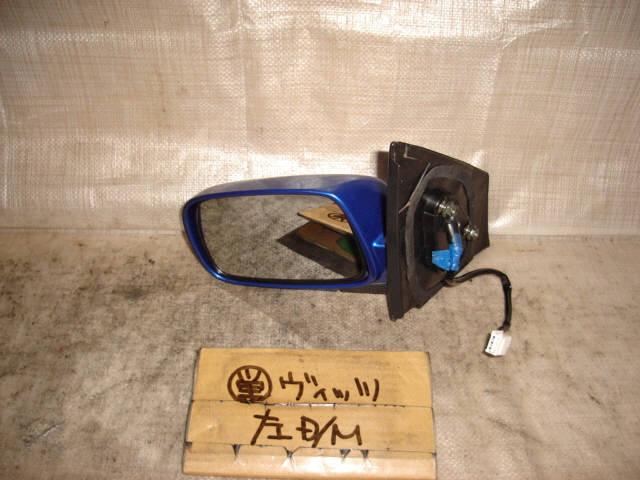 Зеркало двери боковой TOYOTA VITZ NCP10. Фото 4