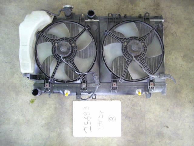 Радиатор ДВС SUBARU LEGACY WAGON BH9 EJ25. Фото 4
