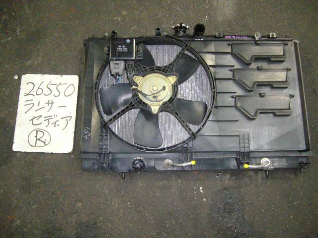 Радиатор ДВС MITSUBISHI LANCER CEDIA CS2A 4G15. Фото 5