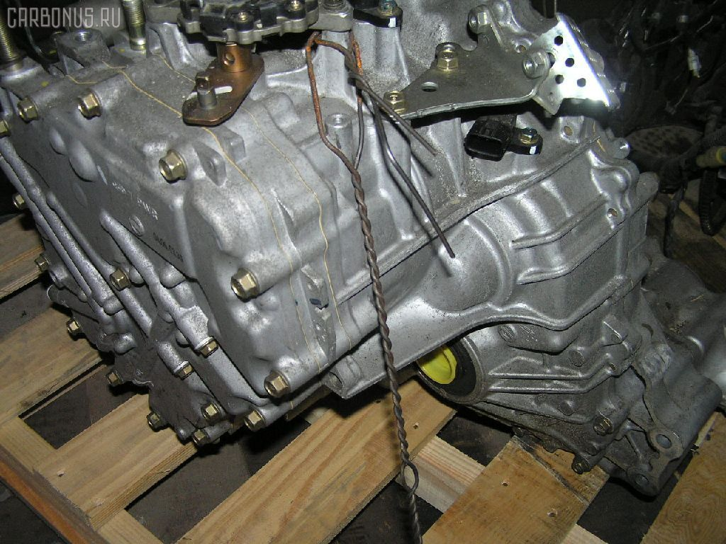 КПП автоматическая HONDA FIT GD2 L13A. Фото 3
