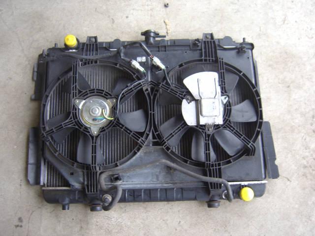 Радиатор ДВС NISSAN PRESAGE HU30 VQ30DE. Фото 3