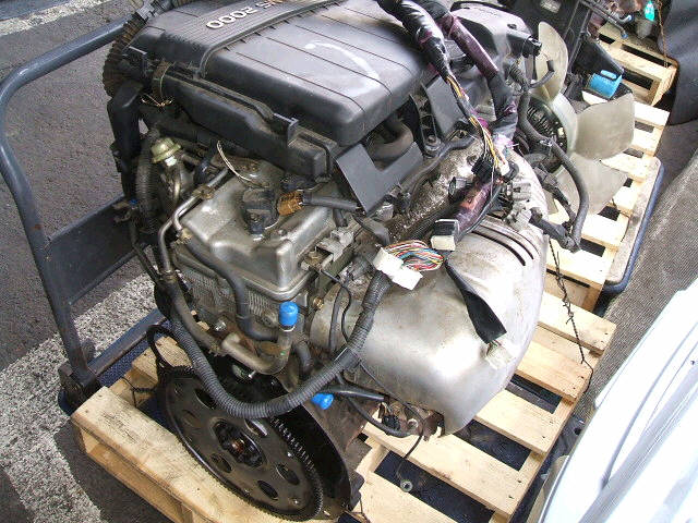 Двигатель TOYOTA GX100 1G-FE. Фото 9