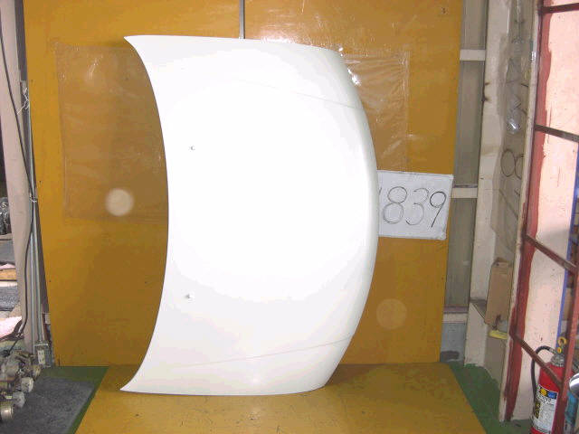 Капот NISSAN BASSARA JU30. Фото 3