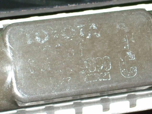 Радиатор ДВС TOYOTA NADIA SXN10 3S-FE. Фото 3