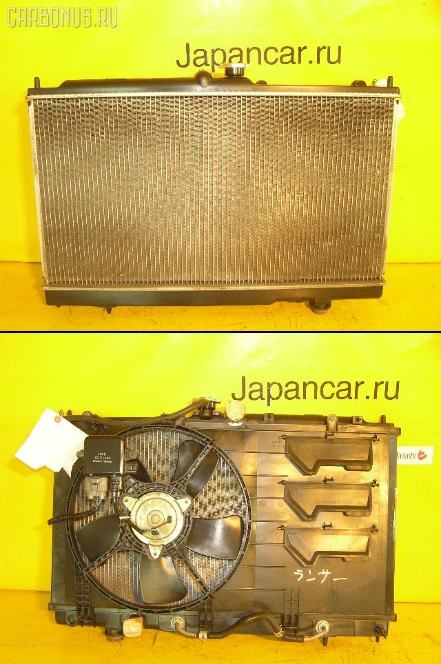 Радиатор ДВС MITSUBISHI LANCER CEDIA CS2A 4G15. Фото 6