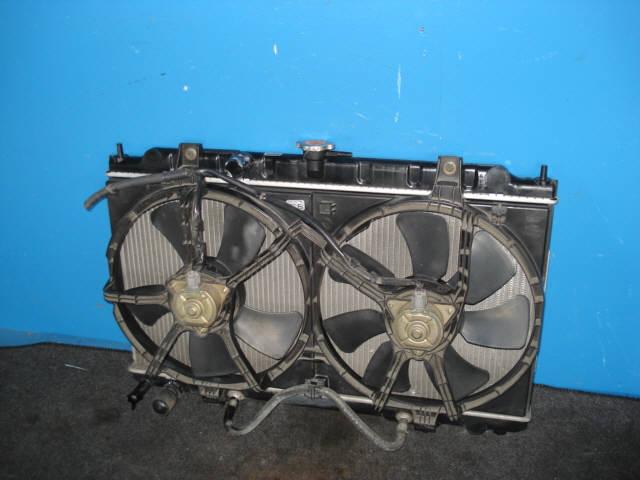 Радиатор ДВС NISSAN SUNNY FB15 QG15DE. Фото 3