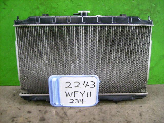 Радиатор ДВС NISSAN WINGROAD WFY11 QG15DE. Фото 7