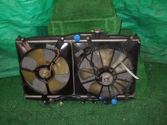 Радиатор ДВС HONDA ACCORD WAGON CF6 F23A. Фото 3