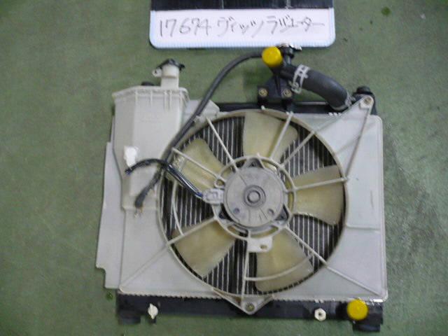Радиатор ДВС TOYOTA VITZ NCP13 1NZ-FE. Фото 2