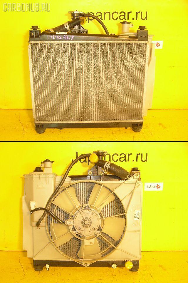 Радиатор ДВС TOYOTA VITZ NCP13 1NZ-FE. Фото 1