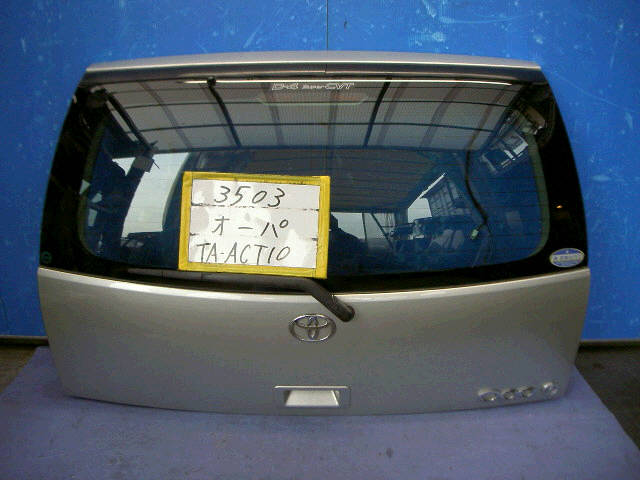 Дверь задняя TOYOTA OPA ACT10. Фото 4