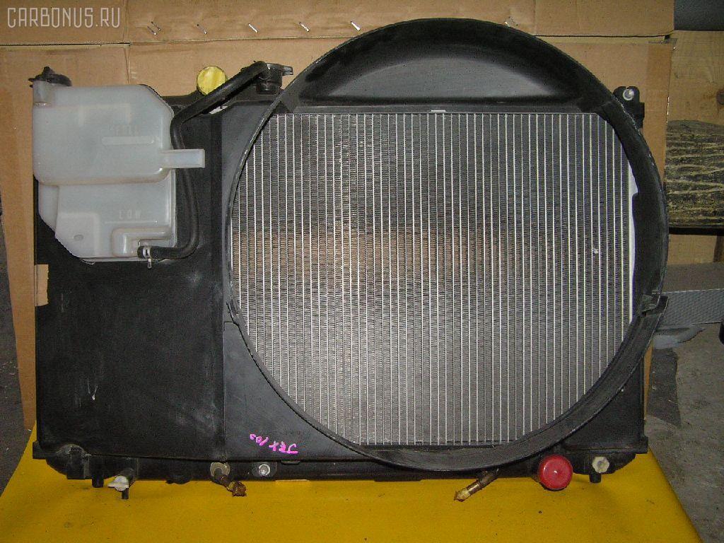 Радиатор ДВС TOYOTA CRESTA JZX100 1JZ-GE. Фото 2