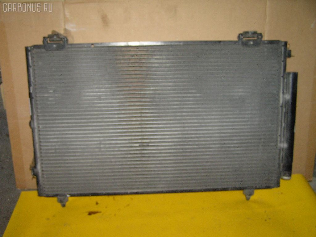 Радиатор кондиционера TOYOTA COROLLA SPACIO ZZE122N 1ZZ-FE. Фото 4