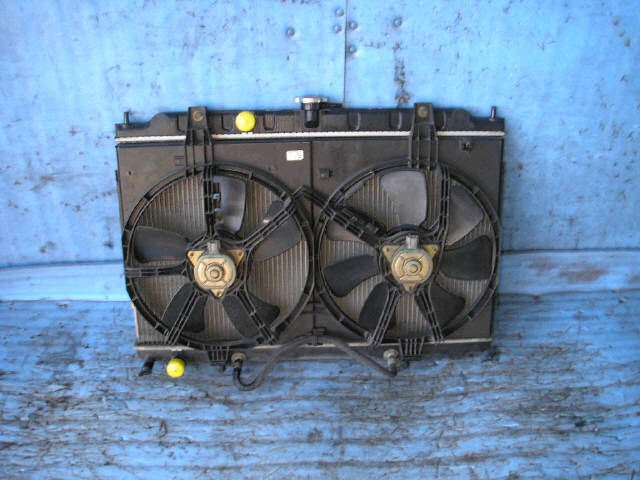 Радиатор ДВС NISSAN TINO V10 QG18DE. Фото 4