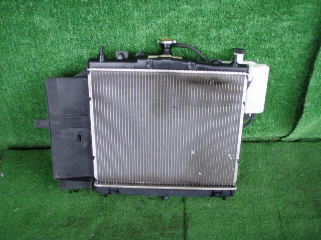 Радиатор ДВС NISSAN CUBE BZ11 CR14DE. Фото 1
