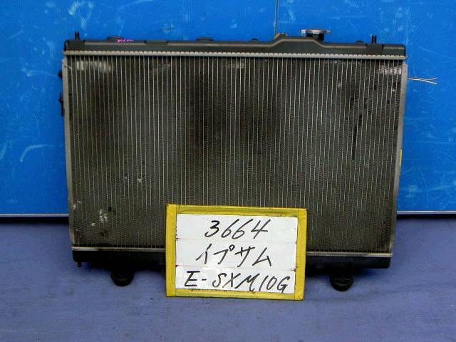 Радиатор ДВС TOYOTA GAIA SXM15G 3S-FE. Фото 3