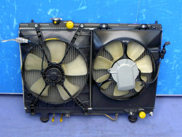 Радиатор ДВС TOYOTA GAIA SXM15G 3S-FE. Фото 1