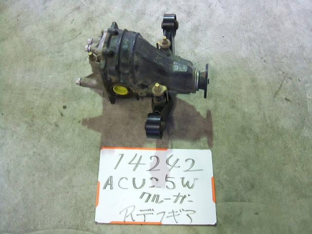 Редуктор TOYOTA KLUGER V ACU25W 2AZ-FE. Фото 5