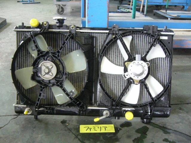 Радиатор ДВС MAZDA FAMILIA S-WAGON BJ5W ZL-DE. Фото 1