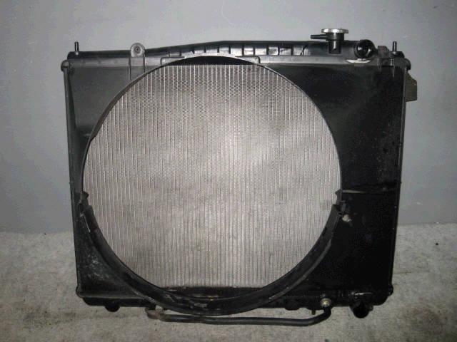 Радиатор ДВС NISSAN ELGRAND ALWE50 VG33E. Фото 2