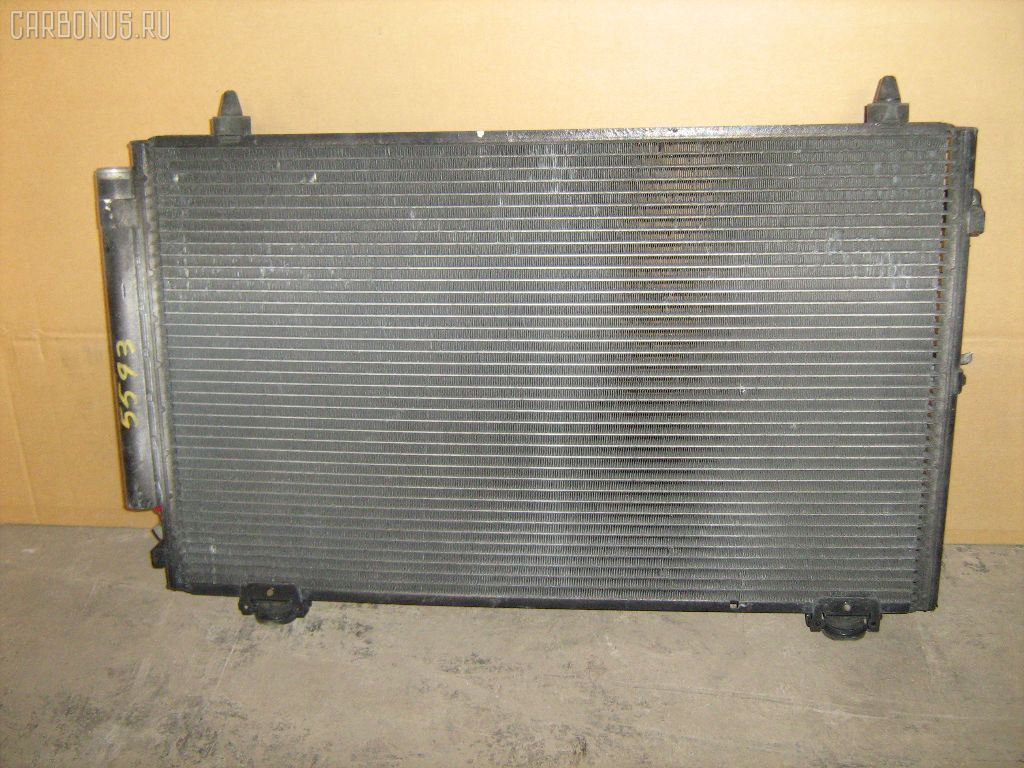 Радиатор кондиционера TOYOTA COROLLA SPACIO NZE121N 1NZFE. Фото 8