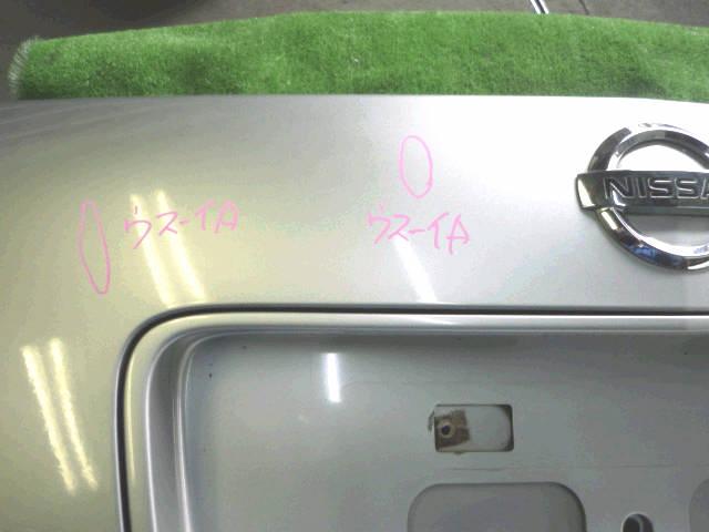 Крышка багажника NISSAN PRIMERA TP12. Фото 5