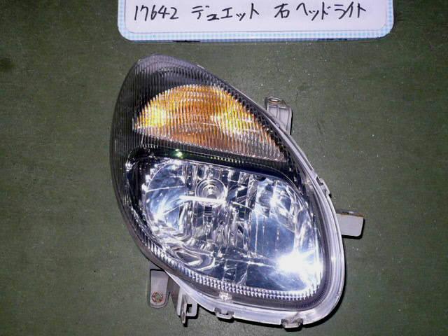 Фара TOYOTA DUET M110A