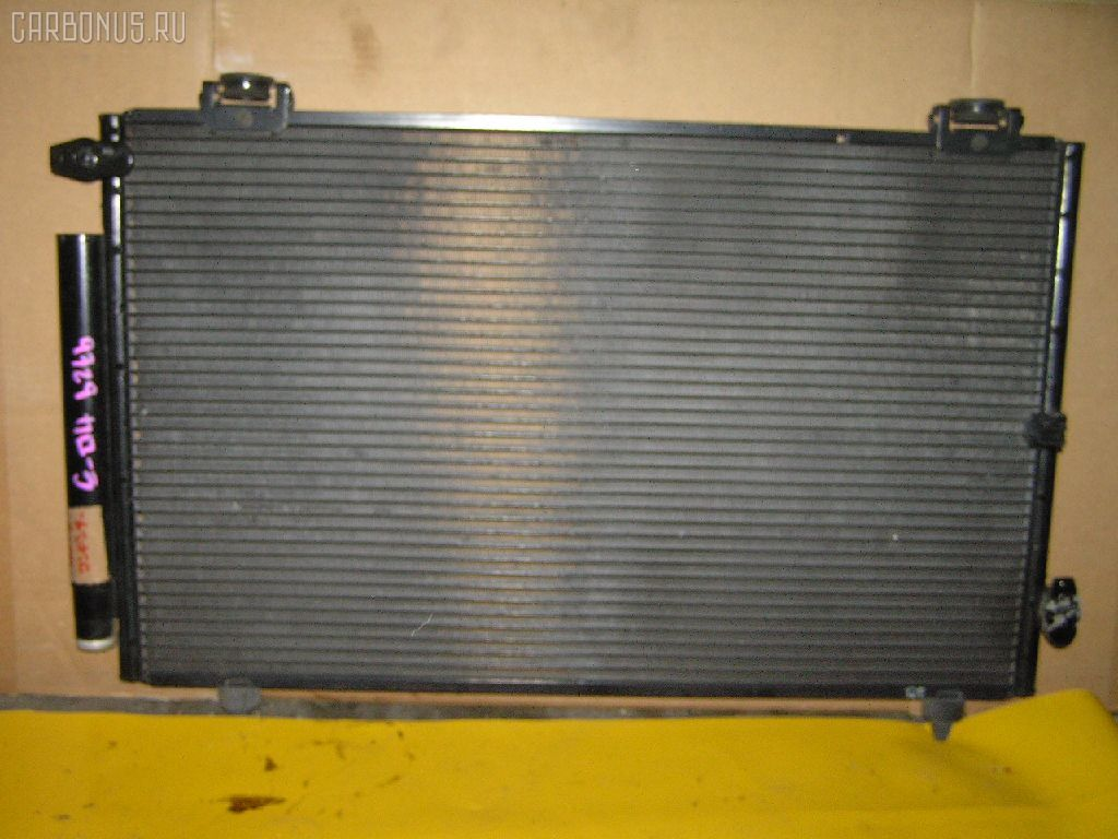 Радиатор кондиционера TOYOTA COROLLA SPACIO ZZE122N 1ZZ-FE. Фото 10