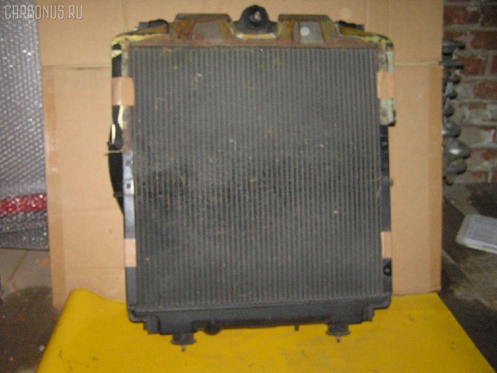 Радиатор ДВС MITSUBISHI CANTER FB501B 4M40. Фото 1