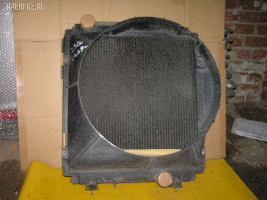 Радиатор ДВС MITSUBISHI CANTER FB501B 4M40. Фото 2