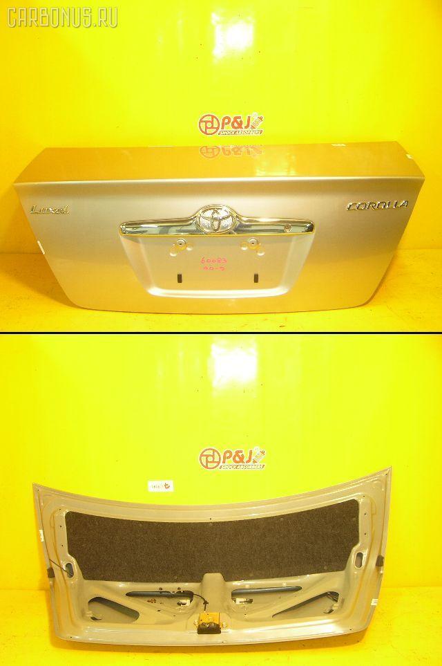 Крышка багажника TOYOTA COROLLA ZZE122. Фото 4