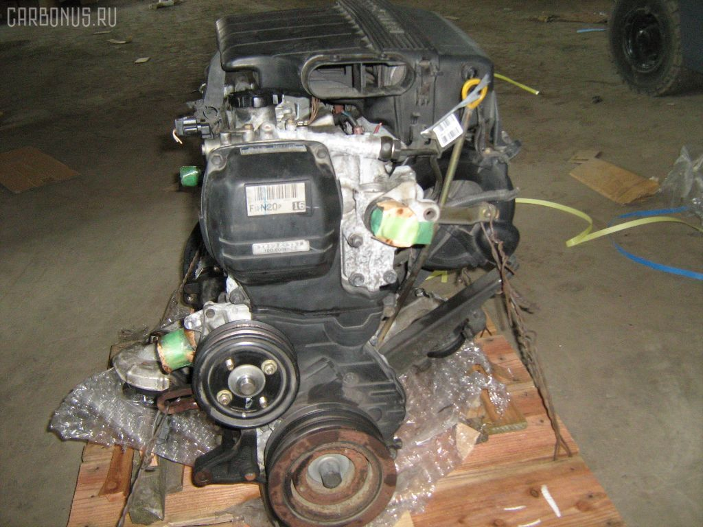 Двигатель TOYOTA GX100 1G-FE. Фото 10