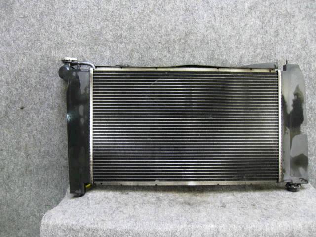 Радиатор ДВС TOYOTA COROLLA NZE124 1NZ-FE. Фото 2