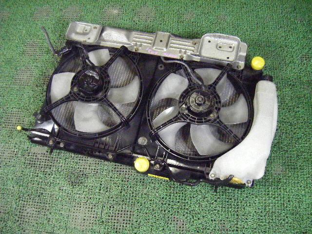 Радиатор ДВС SUBARU LEGACY WAGON BH9 EJ25. Фото 8