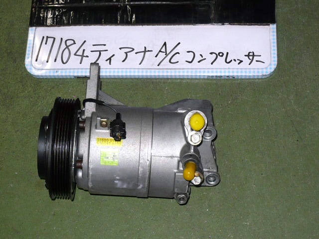 Компрессор кондиционера NISSAN TEANA J31 VQ23DE. Фото 4