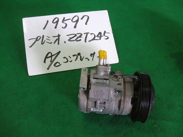 Компрессор кондиционера TOYOTA PREMIO ZZT245 1ZZ-FE. Фото 2