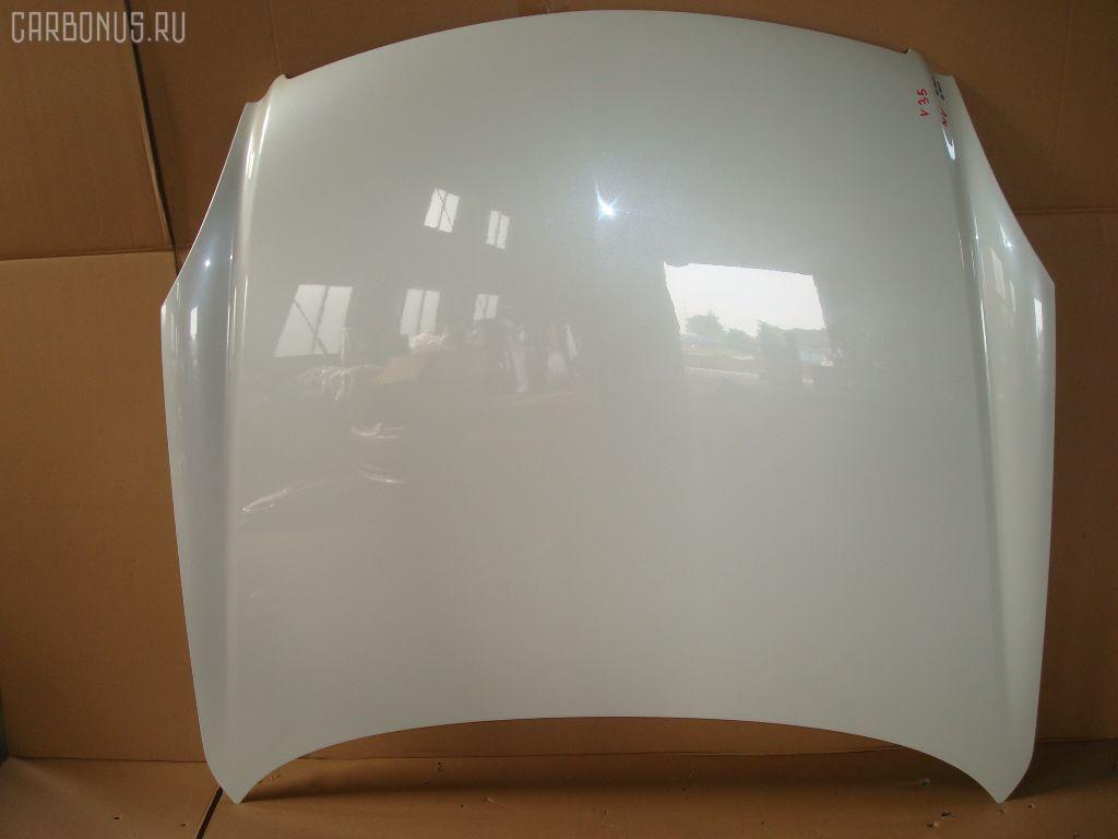 Капот NISSAN SKYLINE V35. Фото 1