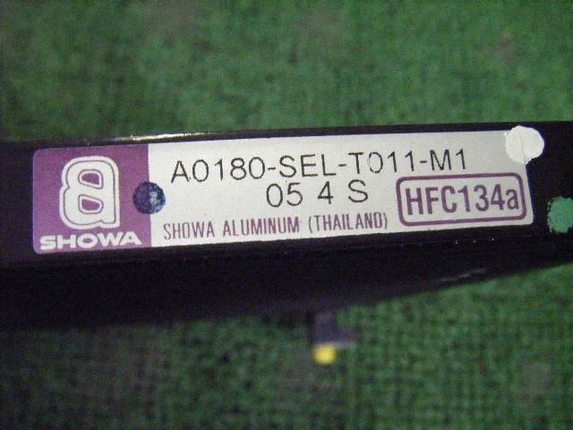 Радиатор кондиционера HONDA FIT ARIA GD8 L15A. Фото 2