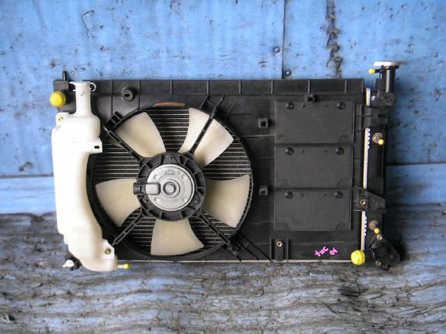 Радиатор ДВС MITSUBISHI COLT Z27A 4G15. Фото 1