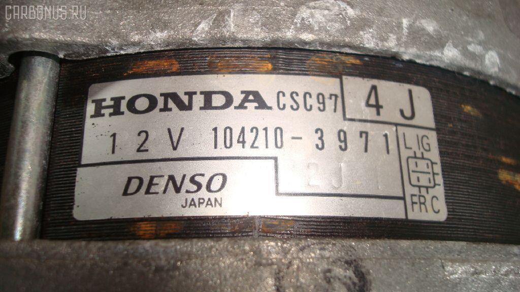 Генератор HONDA ODYSSEY RB1 K24A. Фото 3