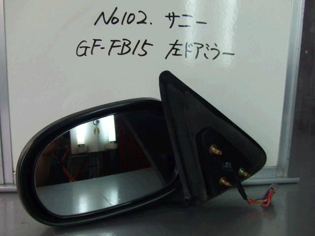 Зеркало двери боковой NISSAN SUNNY FB15. Фото 6