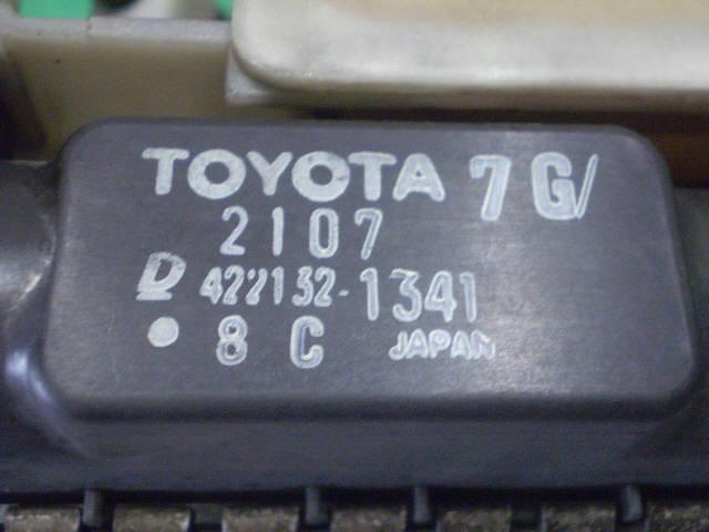 Радиатор ДВС TOYOTA IST NCP61 1NZ-FE. Фото 6