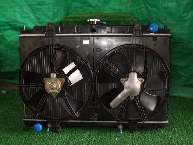 Радиатор ДВС NISSAN TINO HV10 SR20DE. Фото 4