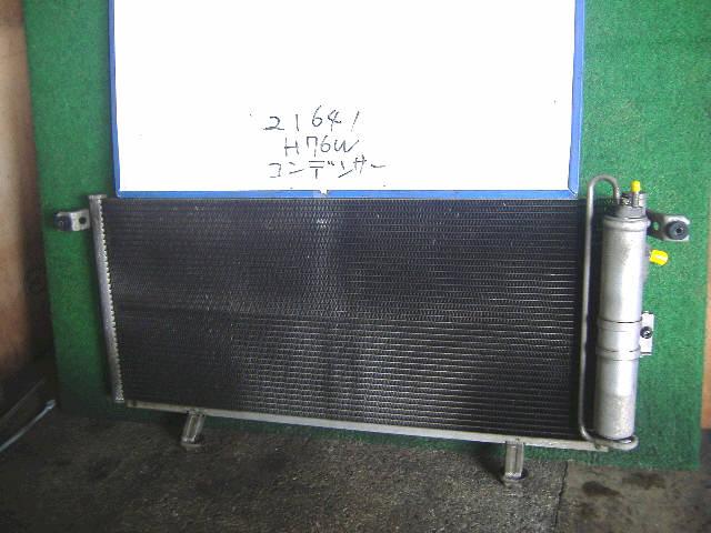 Радиатор кондиционера MITSUBISHI PAJERO IO H76W 4G93. Фото 1