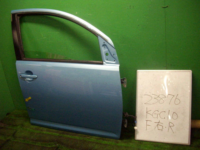 Дверь боковая TOYOTA PASSO KGC10. Фото 9